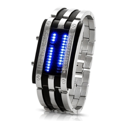 LED Navy 28 silver