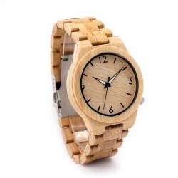 a112cd595 BOBO BIRD - dřevěné hodinky D27