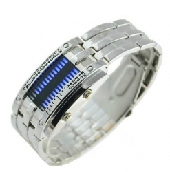 LED Navy 28 all silver - modré diody